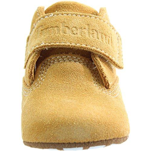 Timberland Hook   Loop Crib Bootie Wheat Nubuck 1 5 UK Child