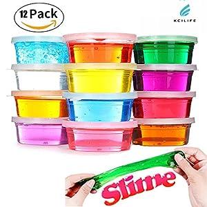 Kciline12PCS Magic Set Slime Kids Toys Children Educational Toys Childrens Toys Pack of 12 Color de Kciline