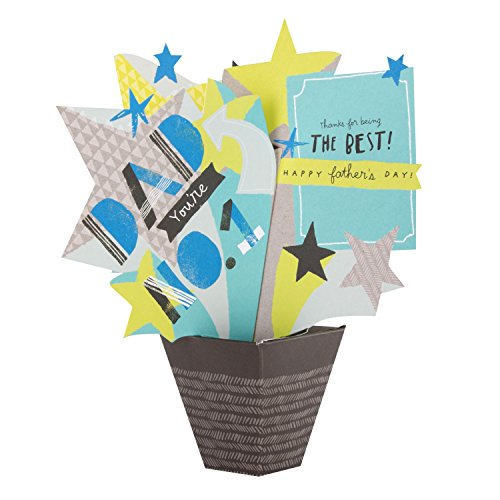 Hallmark Dad Pop Up Father's Day Card 'The Best'