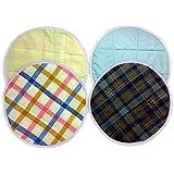 Cloth Architect Cotton Roti Cover/Chapati Covers/Roti Rumal- Round Traditional Rumals to Keep Roti/Chapati Fresh- Assorted (Set of 2 = 2X(Top + Bottom)