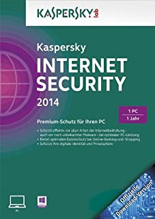 Kaspersky Internet Security 2014 - 1 PC [Download] (B00EKQCVIO) | Amazon price tracker / tracking, Amazon price history charts, Amazon price watches, Amazon price drop alerts