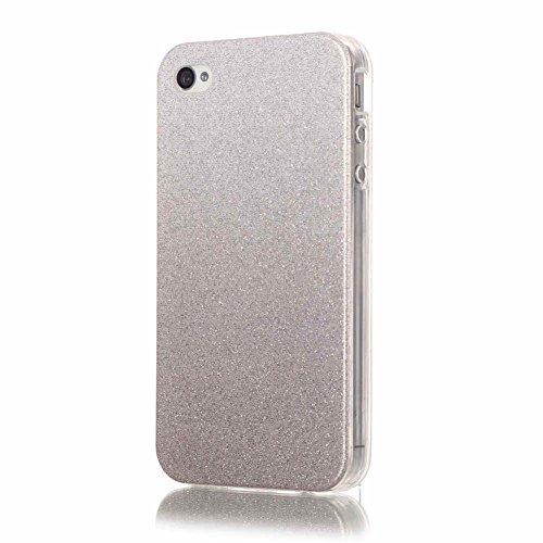 Landee TPU Silicone Étui Bling Couleur dégradado Coque pour iPhone 4 4S (4S-T-115) 4S-T-109