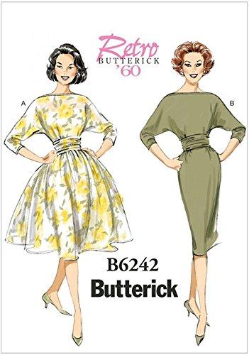 Butterick Patron de couture pour femmes 6242robes de style vintage