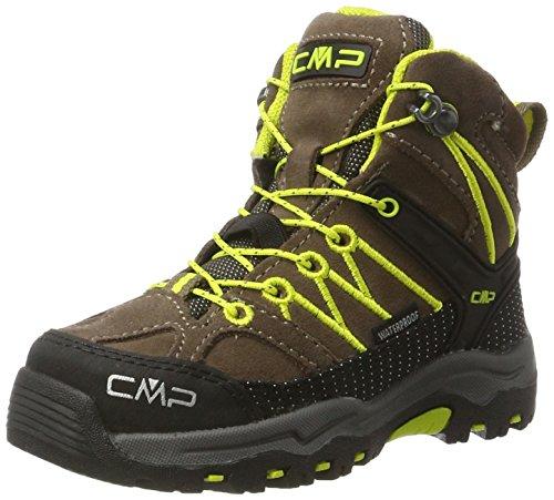 CMP Rigel Mid WP, Chaussures de Randonnée Hautes Mixte Adulte Marron (Tabacco)