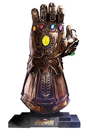 Hot Toys Guante Thanos 68 cm. Vengadores: Infinity War. con luz. Life-Size Masterpiece. Escala 1:1