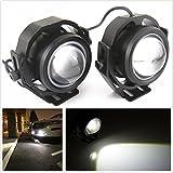 ronben 2COB 20W LED High Power Hawkeye Projektor Lampe für Auto/Motorrad Tagfahrlicht DRL Nebel Licht wasserdicht
