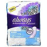 Always & Aldays Discreet Inkontinenz Einlagen plus Long Bei Blasenschwäche Einzelpack, 10 Stück