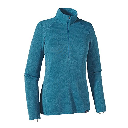 Patagonia Capilene Thermal Weight Zip Neck Shirt Women - Thermoshirt ultramarine/underwater bl
