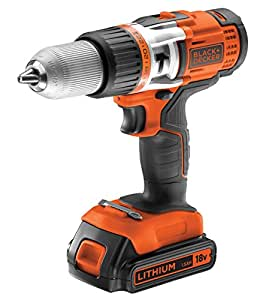 Black + Decker EGBHP188BK Perceuse sans Fil