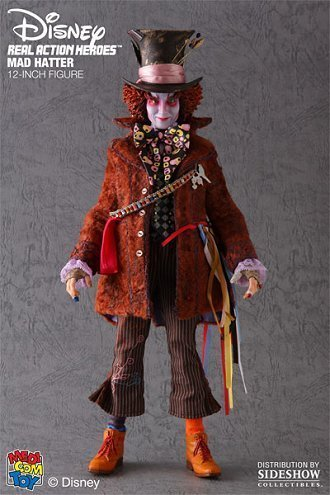 Hutmacher (Johnny Depp) Figur von Alice Im Wunderland (1:6 maßstab) (Johnny Depp Mad Hatter)
