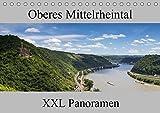 Oberes Mittelrheintal - XXL Panoramen (Tischkalender 2019 DIN A5 quer): Impressionen aus dem Weltkulturerbe Oberes Mittelrheintal im Panoramaformat (Monatskalender, 14 Seiten ) (CALVENDO Natur)