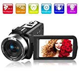 Videocamara Videocámara Full HD 1080P 30FPS 24.0MP 18X Zoom Digital Camara de Video con...