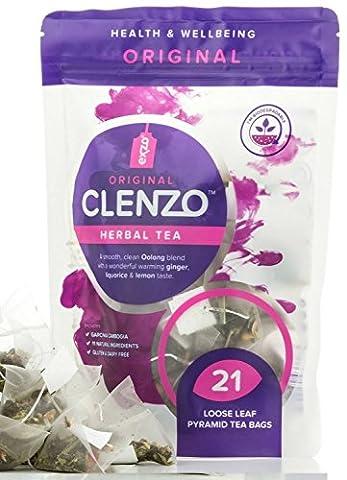 Thé détox - Clenzo, régime de 7 à 21 jours