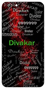 Divakar (Sun) Name & Sign Printed All over customize & Personalized!! Protective back cover for your Smart Phone : Moto X-STYLE