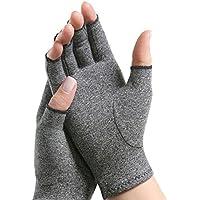 Arthritis-Handschuhe fingerlos, Herren/Damen-Kompressions-Handschuhe, Erleichterung bei Arthritis-Symptome, Raynaud... preisvergleich bei billige-tabletten.eu