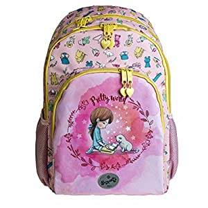 51TreAJ15IL. SS300  - Busquets Mochila Escolar Doble Pretty by