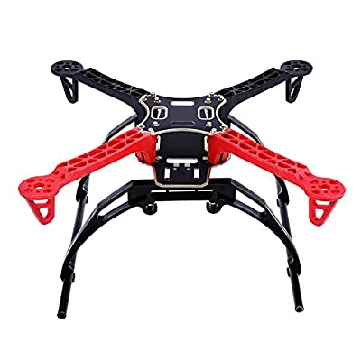 Quadcopter Frame, RC Aircraft Drone Frame Kit RC Accessory Integrated PCB Board for DJI F330