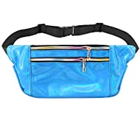 Novias Boutique Unisex PVC Hologram Belt Waist Bum Bag Fanny Pack 28