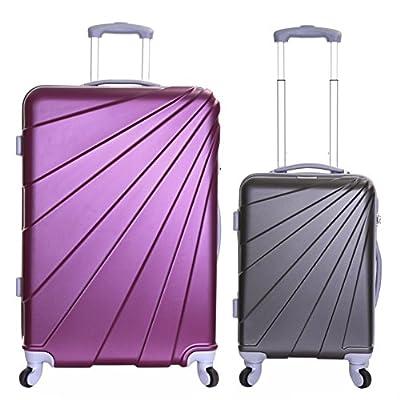Slimbridge Fusion 4-Wheels Hard Suitcases - cheap UK light shop.