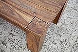 Exklusiver Massiver Sheesham Couchtisch MAKASSAR 100cm Holztisch Massivholz Wohnzimmertisch - 5