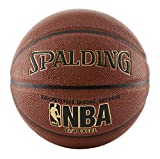 Spalding NBA Zi/O Excel Basketball, Unisex, braun, Official Size 7 (29.5