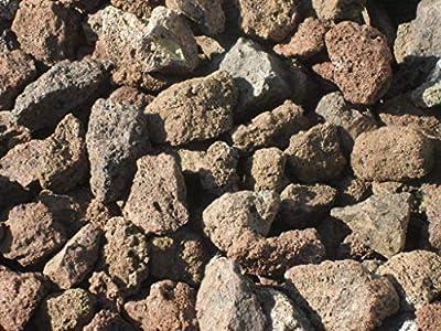 Der Naturstein Garten 100 kg Lava Mulch 16-32 mm - Pflanzgranulat Schneckenschutz Lavastein Lavamulch Aquarium Dachbegrünung Lavagranulat - Lieferung KOSTENLOS
