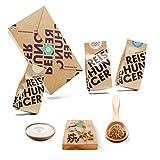 Reishunger Indisch Dal Box - Originalzutaten bester Qualität - Für bis zu 4 Personen - Ideal als Geschenk (3er Vorteilspack)