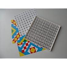 24.4 x 15.4 x 2 cm 1 St/ück Plastik Ellison Sizzix Movers and Shapers Grundplatte braun//Creme