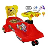 #10: Goyal's Kartoon Magic Car, Ride-on Toy, Assorted Color - Red