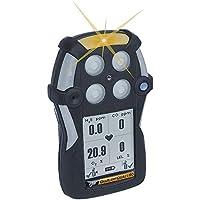SINOSHON QT-XWH0-AB-NA GasAlertQuattro 3-Gas Detector con batterie alcaline, combustibili, O2 e H2S, Nero - Kit Di Calibrazione