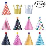 NUOLUX Decoración de sombreros de fiesta de cumpleaños para niños