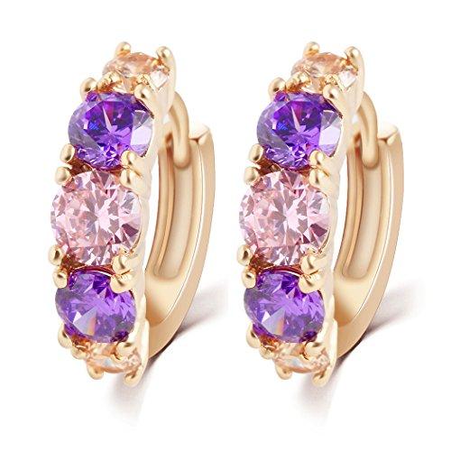 yc-top-luxury-purple-cubic-zirconia-18k-rose-gold-plated-noble-lady-hoop-earrings