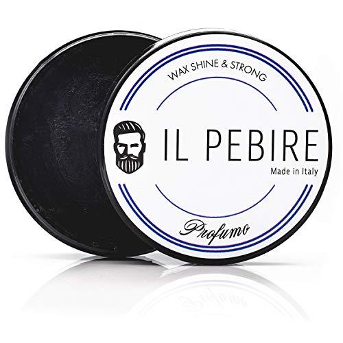 IL PEBIRE Profumo - wasserbasierte Pomade - extra Starker Halt & einzigartiger Duft für dein professionelles Styling - premium Pomade ohne Silikone - 100ml Haarwachs glänzend made in Italy
