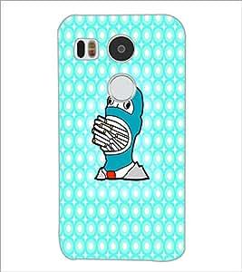 PrintDhaba Cartoon D-4374 Back Case Cover for LG NEXUS 5X (Multi-Coloured)