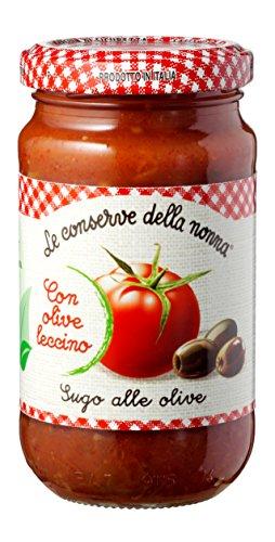 le-conserve-della-nonna-sugo-alle-olive-leccino-pomodori-100-italiani-190-gr