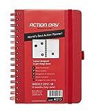 Telecharger Livres Action Day Agenda scolaire World s Best Action Planning pour annee 2017 2018 mise en page Action pour rappel des taches calendrier journalier hebdomadaire mensuel annuel reliure avec fil de fer 6x8 Inch Red Red (PDF,EPUB,MOBI) gratuits en Francaise