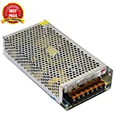 TRP TRADERS 12V 10A 120W DC Switching Switch Power Supply for LED Strip, CCTV, 12 Volt 10 Amp