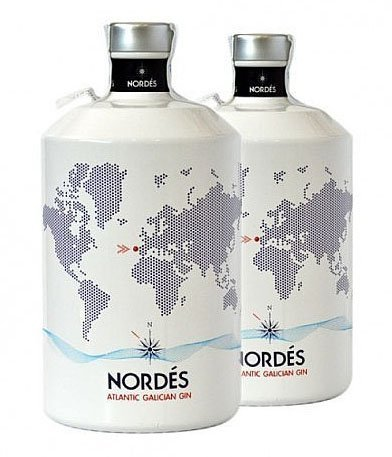 Nordés Atlantic Galician Gin (2 x 0.7 l)