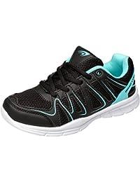 gibra® Sneakers Sportschuhe Hallenschuhe, sehr leicht und bequem, mit Klettverschluss, dunkelblau, Art. 0147, Gr. 36 41