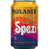 12 Dosen Paulaner Spezi Orangenlimonade + Cola a 0,33l
