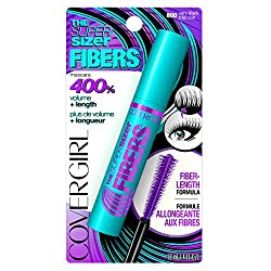 CoverGirl The Super Sizer Fibers Mascara, Very Black, 0.028 Pound