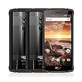 HOMTOM Outdoor Handy ZOJI Z9 IP68 Wasserdicht Robust Mobiltelefon 6 GB 64 GB Puls Helio P23 Android 8.1 5,7 Zoll 5500 mAh Gesichts-ID Fingerabdruck 4G-LTE Smartphone.