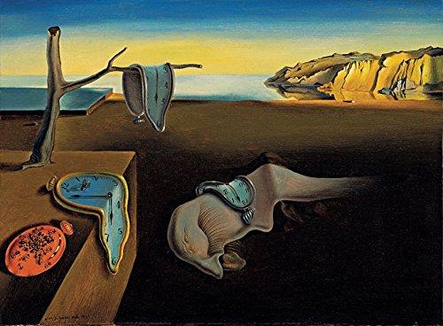 dor Dali-The Persistence of Memory 24x32 Non-Canvas Poster Print ()
