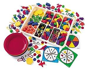 Learning Resources LSP 0217-UK - Juego de clasificación (lógica, combinación, piezas de diferentes formas y colores)