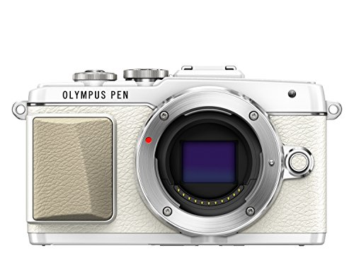 "Olympus E-PL7 - Cámara EVIL de 16.1 Mp (pantalla 3"", estabilizador, vídeo Full HD, WiFi), color blanco - Solo cuerpo"