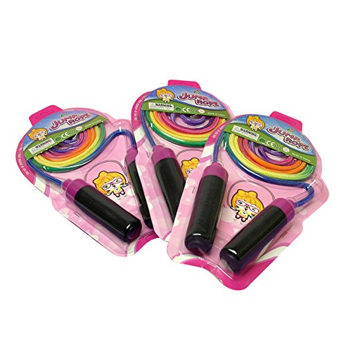 "Preisvergleich Produktbild Springseil ""Jump Rose"" Regenbogenfarben 2,10m"