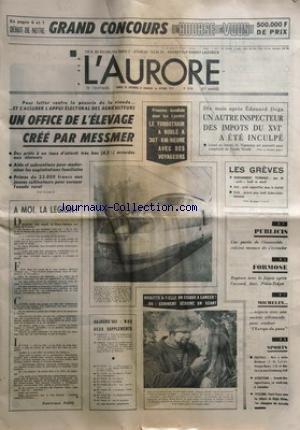 AURORE (L') [No 8734] du 30/09/1972 ...