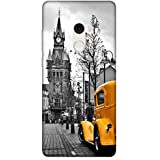 For Xiaomi Mi Mix 2 Beautiful Car ( Vintage Image, Vintage Images With Yellow Car, Yellow Car, Nice Car, Beautiful Car, Car ) Printed Designer Back Case Cover By King Case