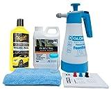 Gloria FoamMaster FM10 + ValetPro Snow Foam + Meguiars Shampoo Auswahl + Zubehör (Meguiars Ultimate Wash & Wax Shampoo 473ml)