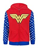 Wonder Woman Logo Girl'S Zip-Up Hoodie (11-12 Years)